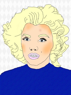 """Marilyn Monroe"" - KenzieS"