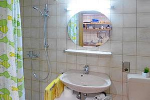 Badezimmer Appartement 2,3 und 4