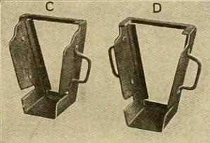 Rahmen der Gussformen zum Thermitschweißen von Eisenbahnschienen