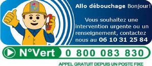 Débouchage toilette Bourg en Bresse 01