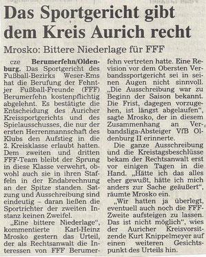 (Ostfriesen-Zeitung vom 20. Juli 1996)