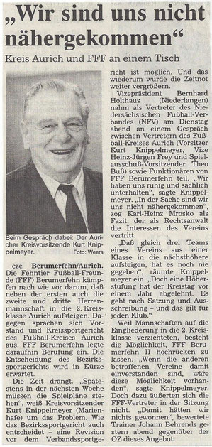 (Ostfriesen-Zeitung vom 17. Juli 1996)
