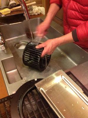換気扇掃除 シロッコファン掃除