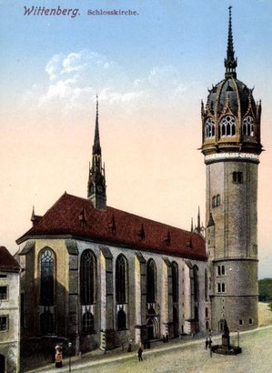 Schlosskirche Wittenberg.