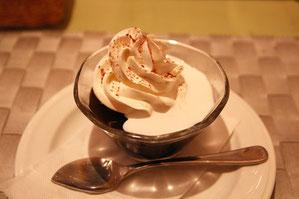 自家製コーヒーゼリー ほどよい甘さ