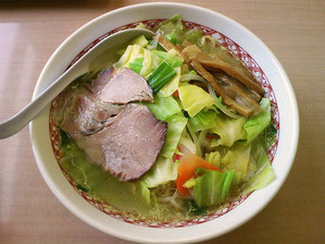 塩野菜ラーメン ¥750