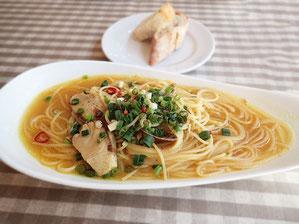 魚介のスープ・パスタ
