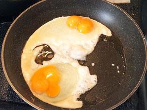 目玉焼きも卵かけご飯も絶品の2黄卵