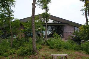 野尻湖ホテル エル・ボスコの裏庭