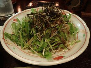 ジャコのサラダ