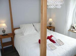 Schlafzimmer Ferienhaus Isère