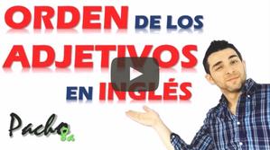 Clave para identificar el orden de los adjetivos en inglés - Muy fácil