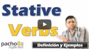 Stative Verbs – Definición y Ejemplos – Incluye listado de Stative Verbs