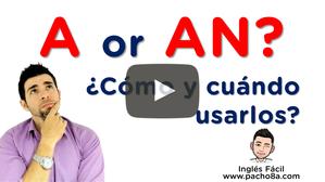 Aprende a diferenciar fácilmente A de AN con estos ejemplos - Muy fácil