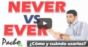 Lo que debes saber sobre EVER y NEVER - Explicación detallada + ejercicios