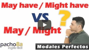 Modales May - Might y modales perfectos May have - Might have