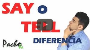 Say vs Tell - Aprende la diferencia para usarlo en Reported Speech