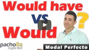 Como usar el modal Would y el modal perfecto Would Have - Diferencias