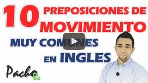 10 preposiciones de movimiento que debes aprender - Diferencia IN - INTO y más.