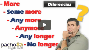 Cuándo y cómo usar More, Some more, Any more, Anymore, Any longer y No longer.