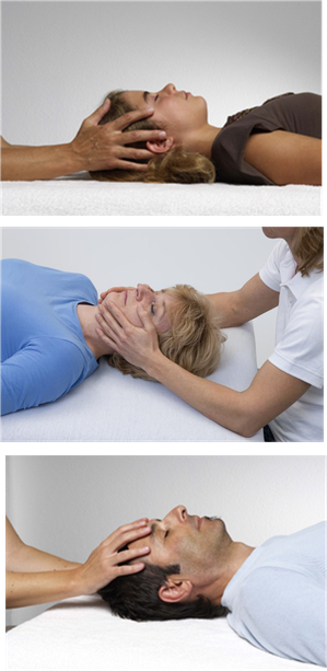 Mit feinfühligen Händen werden die Rhythmen des Körpers erspürt. Sanfte Impulse und die klare Ausrichtung auf das Gesunde öffnen den Raum, in dem der Körper in tiefe  Entspannung und Stille eintaucht.