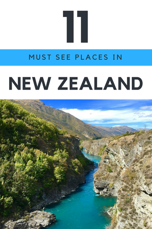 MUST SEE PLACES IN New Zealand