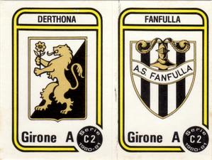 FIGURINA PANINI DERTHONA  1980-81