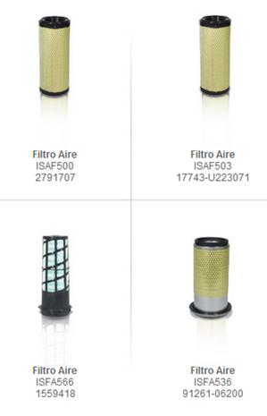 filtros aire partes refacciones accesorios montacargas mexico