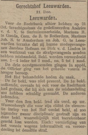 Nieuwsblad van Friesland : Hepkema's courant 22-12-1916