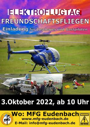 Elektroflugtag 2020 MFG Eudenbach