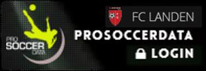Op site ProSoccerData rechtsboven klikken op Log-in
