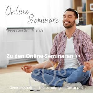 Meditation & Achtsamkeit: Live Online-Seminare, Aufzeichungen und mehr, Hier direkt buchen