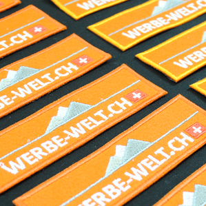 Stickerei Aufnäher. Unsere Stickerei in zürich Adliswil bestickt alles was bestickbar ist. auch siebdruck, transferdruck, digitaldruck ist unsere Gebiet