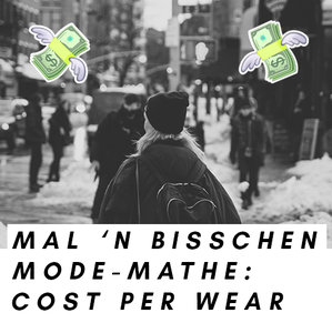 Bildcollage zum Thema Cost per Wear