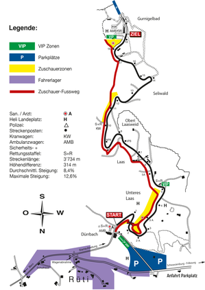 Streckenplan Gurnigel