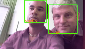 Real-time face recognition on a Raspberry Pi