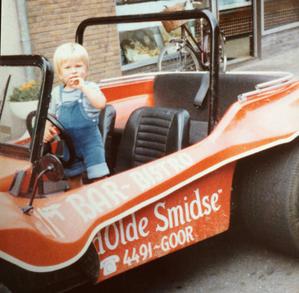 De Smidse Buggy & Ron in zijn jonge jaren