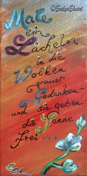 www.evelyn-ehnert.de_Bild_Freude_Acryl_Malerei_auf_Leinwand_Zeichnung