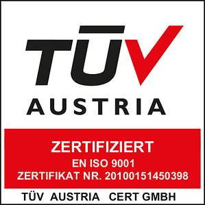 Zertifiziert TÜV Austria