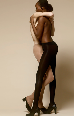 AIRLINES PANTYHOSE BLACK