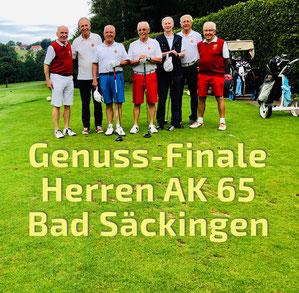 Herrenmannschaft AK 65 vom GC Freudenstadt