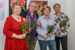 Der neue Vorstand der Ortsgruppe Zühlsdorf der Volkssolidarität