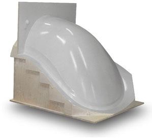 PUR Modelle für GFk Formwerkzeuge