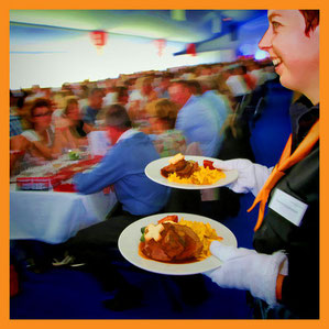Catering Services Migros im Grosseinsatz am PC-24 Rollout