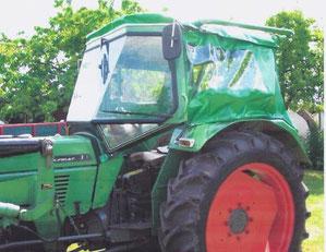 Ersatzplanen für Fendt Farmer 3S  PEKO VERDECK mit Überrollbügel
