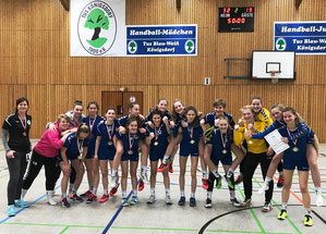 TuS-B-Mädchen Mittelrheinmeister 2018-2019