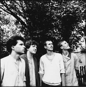 Von links: Christian Schneiderbauer, Wesley Plass, Jan Zelinka, Tom Krüger