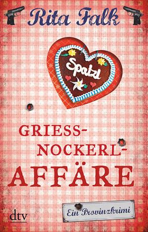 Cover Rita Falk: Griessnockerlaffäre