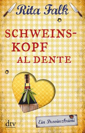Cover Rita Falk: Schweinskopf al dente