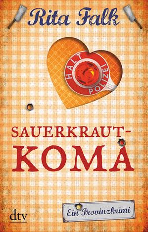 Cover Rita Falk: Sauerkrautkoma